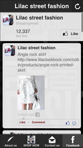 Lilac street fashion