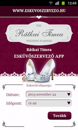 Esküvőszervező App
