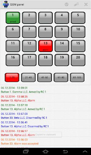 GSM panel