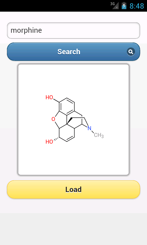 ChemDoodle Mobile - screenshot