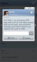 Screenshot of GO SMS Pro SimpleStripe theme