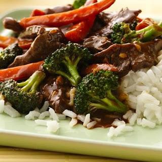 Stir-Fry Beef and Broccoli.