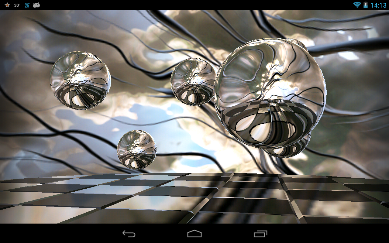 Reflections HD Live Wallpaper - screenshot