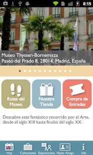 Museo Thyssen: miniatura de captura de pantalla
