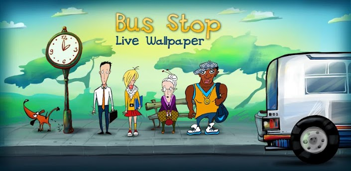 Bus Stop Live Wallpaper