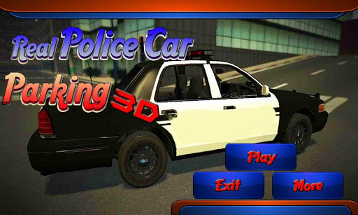Real Police Car Parking 3D