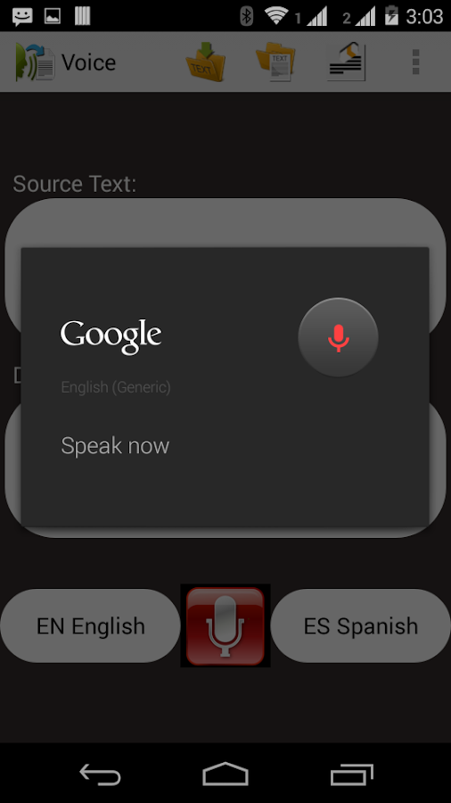 Voice To Text- screenshot