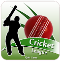 CRICKET LEAGUE (QUIZ GAME) logo