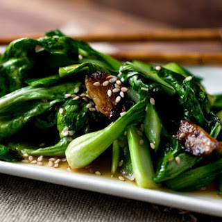 Stir-Fried Bok Choy or Sturdy Greens