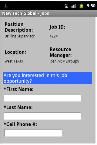 New Tech Global - Jobs - screenshot