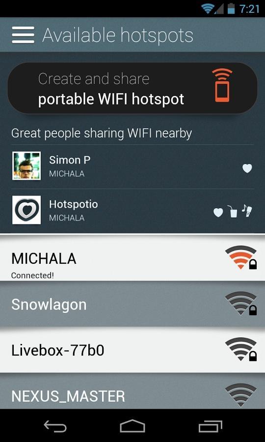 Hotspotio- screenshot
