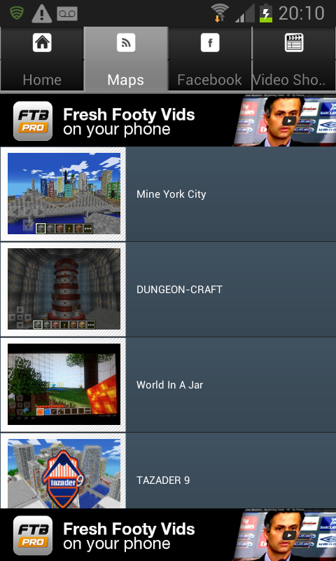 Maps For Minecraft PE - screenshot