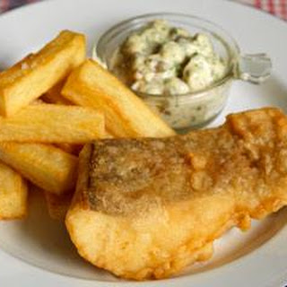 Fish and Chips with Tartare Sauce Recipe