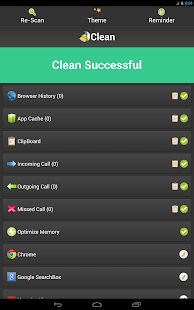 how to clean your phone history