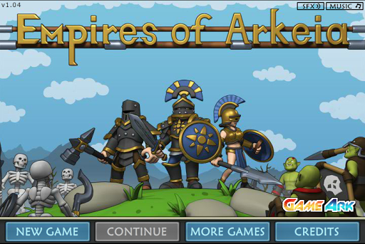 Đế chế Empires of Arkeia