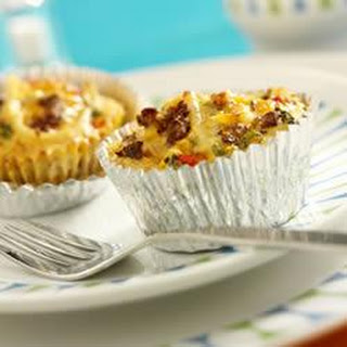 Jimmy Dean Hearty Sausage Mini Quiches.