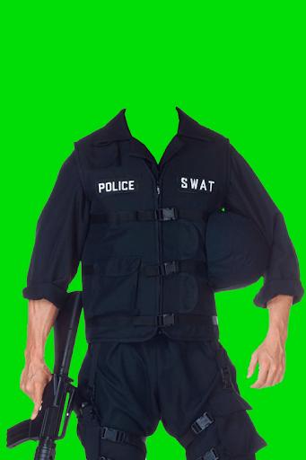 警方西裝照片製作