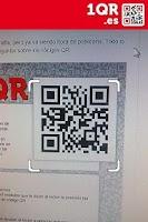 Screenshot of 1QR - free QR code scanner