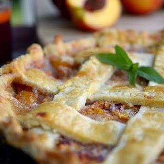 Peach Pie + Pie Crust