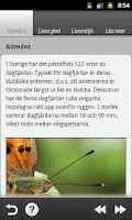 Screenshot of Vårfjärilar