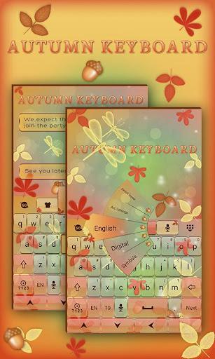 Autumn GO Keyboard Theme