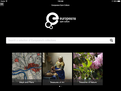 Europeana Open Culture - screenshot thumbnail