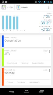 Jiffy - Time tracker - screenshot thumbnail