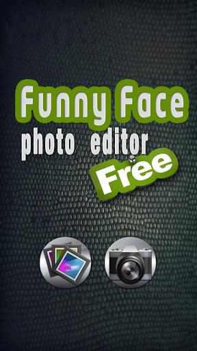 滑稽的臉照片編輯器免費 攝影 App-愛順發玩APP