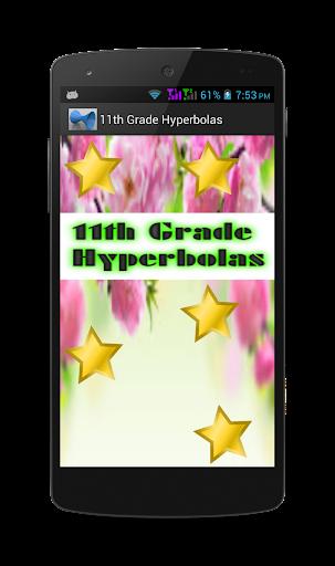11th Grade Hyperbolas