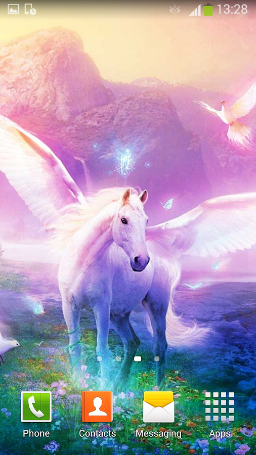 Unicorn Live Wallpaper Android Apps On Google Play