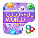 Colorful World GO Theme icon