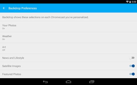 Chromecast v1.5.5