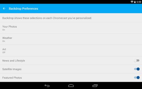 Chromecast - screenshot thumbnail