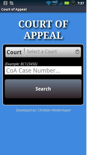 Court of Appeal CA - Opinions