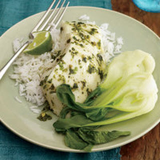 Roasted Sweet-and-Sour Halibut