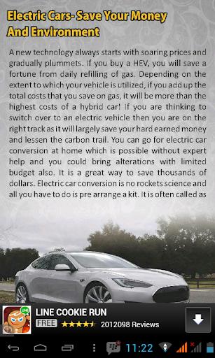 玩書籍App Electric Cars免費 APP試玩