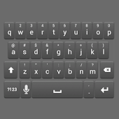 Grey Keyboard Skin