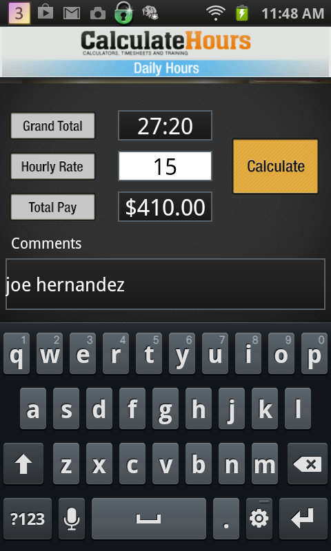 Calculate work hours timesheet android apps on google play for Template to calculate hours worked