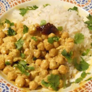 Coconut Chickpeas Curry.