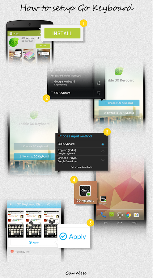 Color L GO Keyboard - screenshot