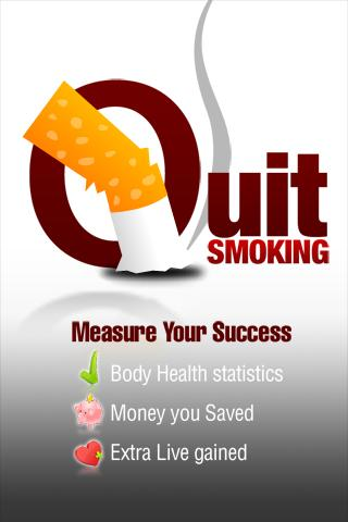 Quit Smoking Health Counter HD - screenshot