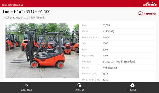 【免費商業App】LindeMH UK Used and Rental-APP點子
