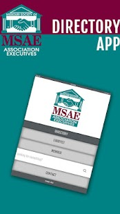 MSAE Directory- screenshot thumbnail