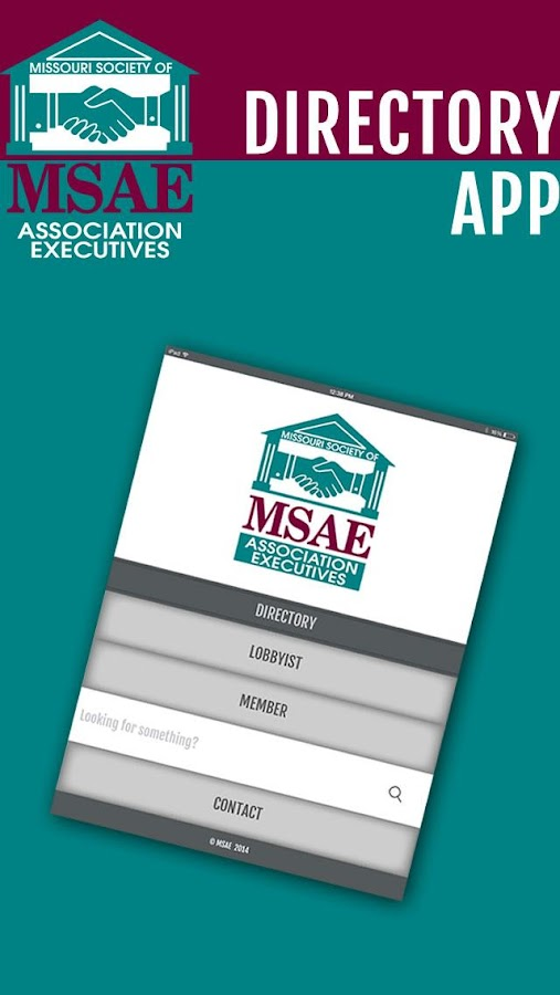 MSAE Directory- screenshot