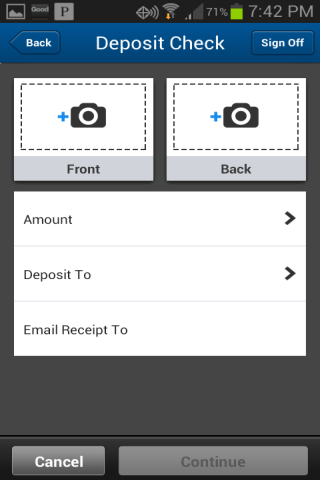People's United Bank Mobile - screenshot