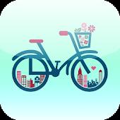 말하는 자전거 내비 - 자전거 내비게이션, 속도계