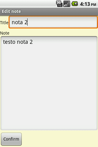 Notepad- screenshot