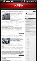 Screenshot of Blog del Narco