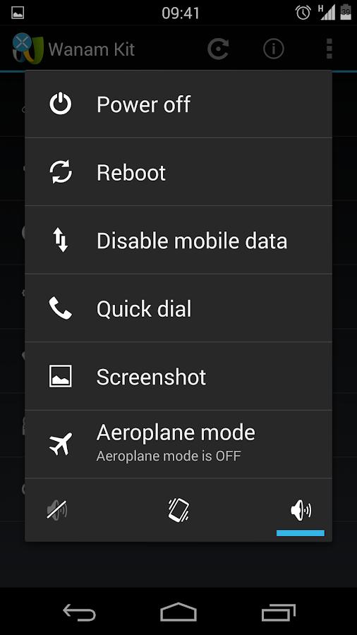 Wanam Kit (Xposed)- screenshot