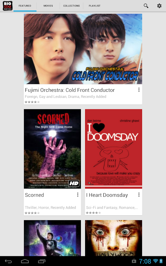 Free Movies & TV- screenshot
